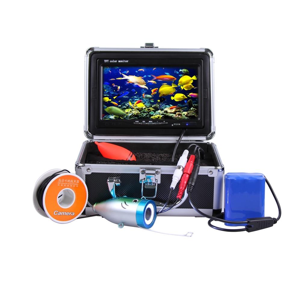 (1 zestaw) 30 M Kabel Podwodny system Kamery z Funkcją DVR 7 calowy monitor kolorowy HD 700TVL Wodoodporna Fish Finder Noc Wersja