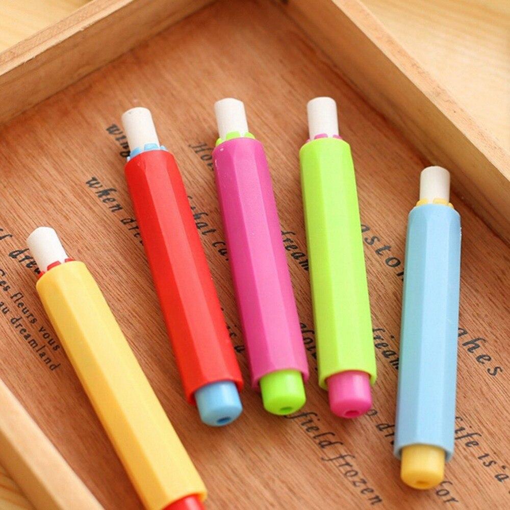 1 шт. Новый Мел Держатели чистке преподавания держать для учителя Детская домашняя образования на борту разные цвета подарок H2326