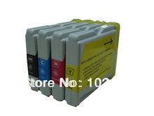4 LC51 ink Catridge for Brother DCP-130C DCP-330C 340CN