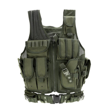 Military Tactical Army Combat Vest Paintball Airsoft Sport Vests Outdoor Breathable Shooting Hunting