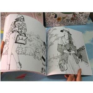 Image 4 - 94 דפים ילדי ספרים מראה סוד גן צביעת ספרים למבוגרים ילדי צביעת ספר ציור/אופנה/צבע/ציור ספר