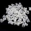 100pcs High Quality Plastic Tattoo Ink Cups Caps Tattoo Supplies 3 Size Drop Shipping Wholesale