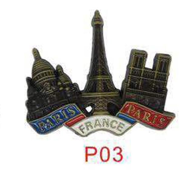 3D Paris Tower Fridge Magnet  2