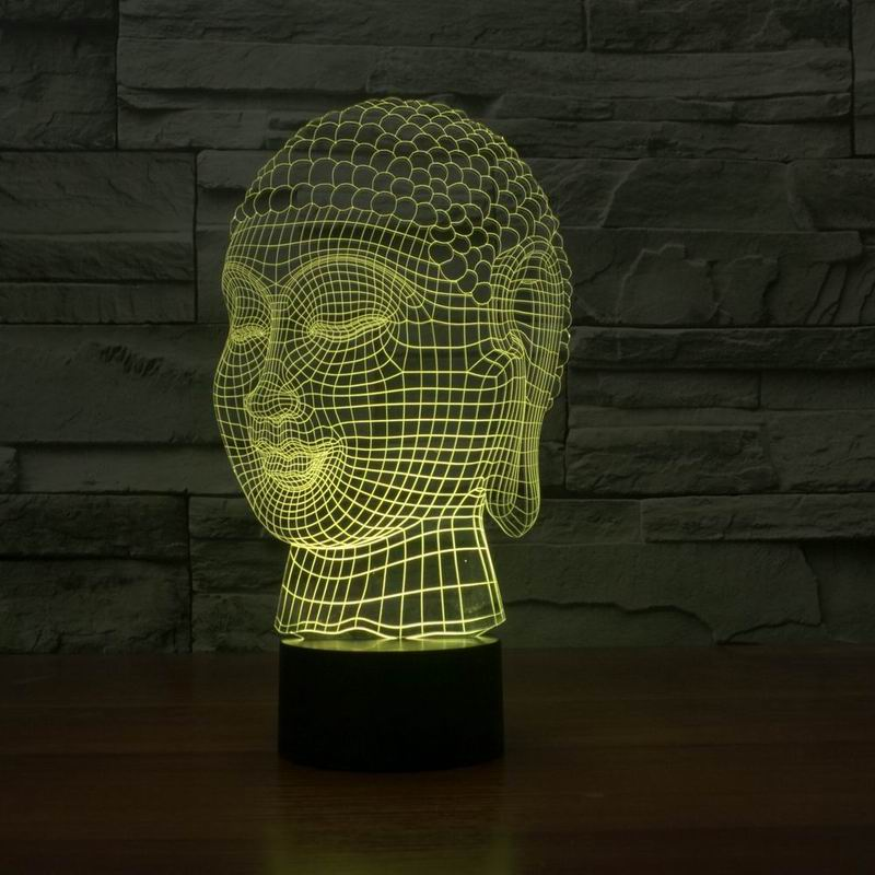 cheap Hot selling 3d effect buddha shape touch light lamp FS-2929 pic,image LED lamps offers