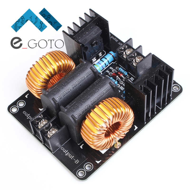 Kit DC 12-30V ZVS Drive Plate Board High Voltage Arc Generator Driver Board For Tesla Coil Power Finished Without Tap