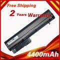 4400 mah batería del ordenador portátil para hp para compaq 2400 nc2400 nc2410 2510 p elitebook mobile thin client 2533 t 2540 p 2530 p