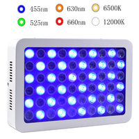 High Par Value 180W Aquarium Light Dimmable LED Reef Coral Lamp for Marine Fish Tanks Plant Grow lights