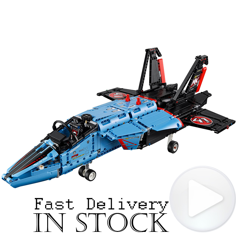 LEPIN Technic 20031 Air Race Jet Aircraft Model Building Blocks Brick Kits DIY Model Toys for children 1151pcs Compatible 42066 new lepin 16009 1151pcs queen anne s revenge pirates of the caribbean building blocks set compatible legoed with 4195 children