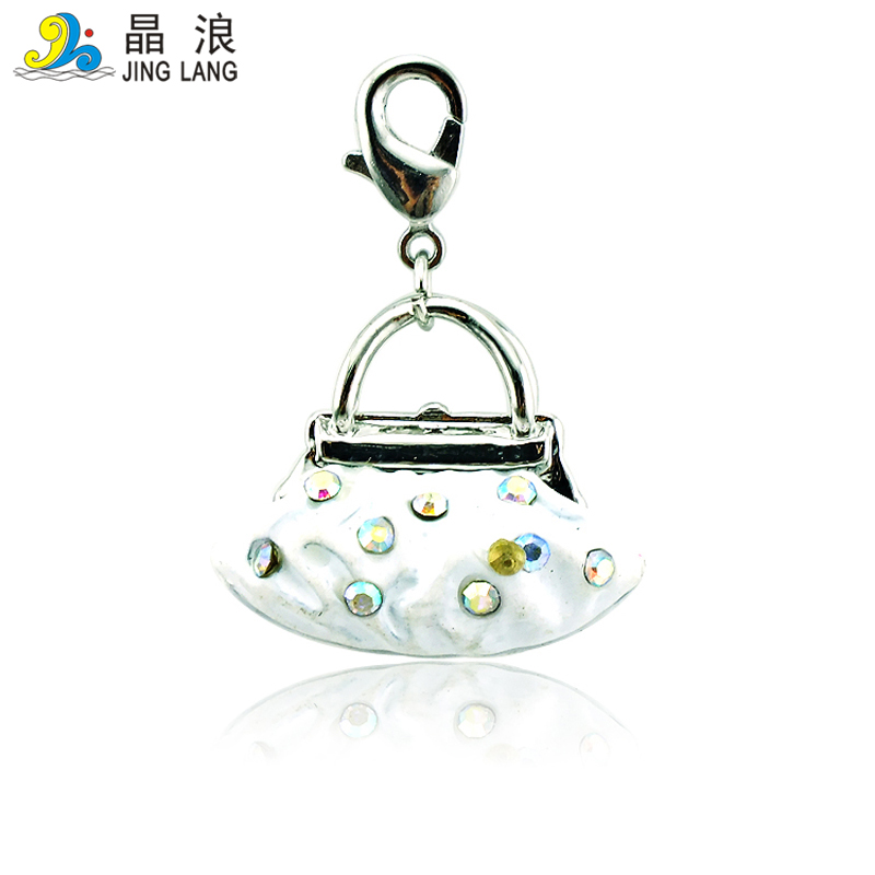 JINGLANG Fashion Package Connector Charms Antique Silver Cutouts for women bracelet jewelry 50 pcs
