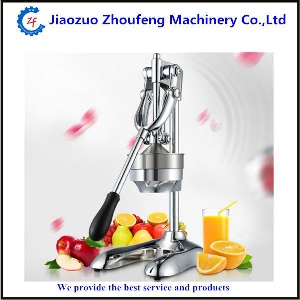 Stainless steel manual juicer squeezer household orange lemon grapefruit juicing machine manual lemon orange juicer light green