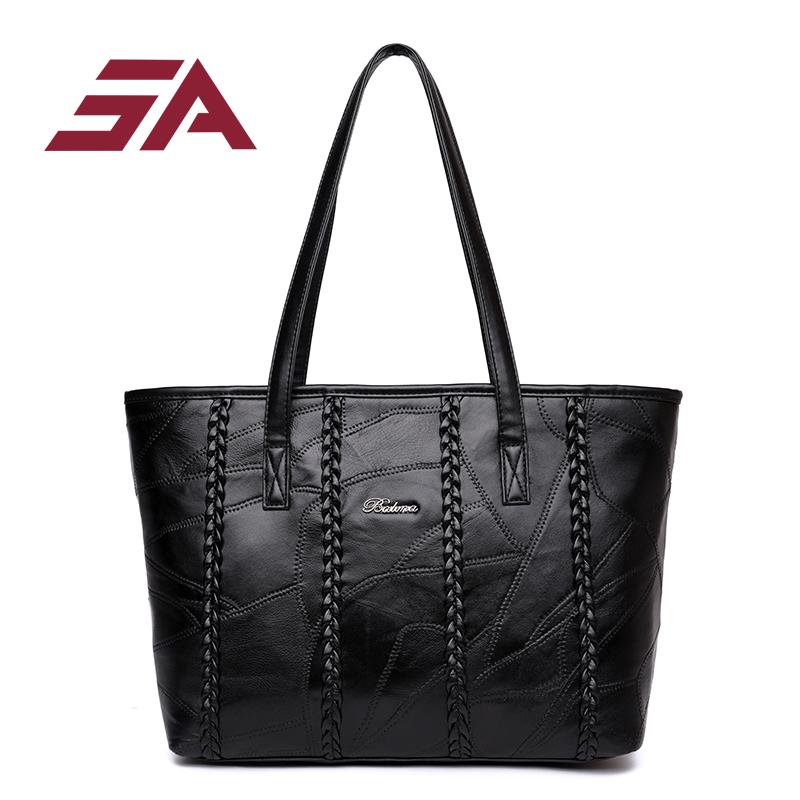 SA Bolsa Feminina Grande Handbag 2018 Fashion Women Bag Brand Women Leather Handbags Woman Large Shoulder Bags Casual Tote Bag imido new fashion handbag pu leather bags women casual tote shoulder bag crossbody luxury brand bolsa feminina orange red hdg076