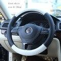 Respirar livremente microfibra Couro Tampa Da Roda de Direcção Do Carro para a ford BMW peugeot 307 bmw toyota volante roda-38 cm 36 cm 40 cm
