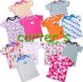 2016 Hot Original carteer baby t shirt boys girl's short sleeve t-shirt 100% cotton baby clothing 5pcs/packs Size:3M-24M