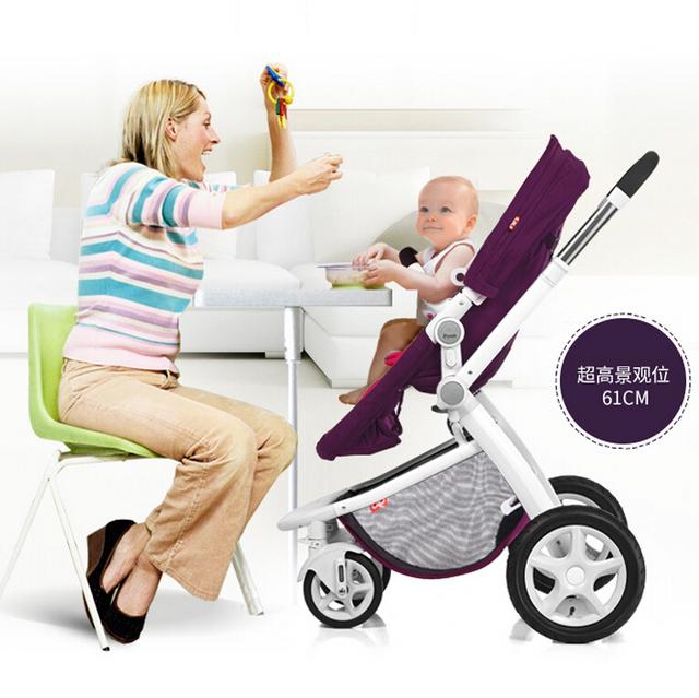 Carrinhos de Guarda-chuva Do Bebê da alta Qualidade, Desigh Novo Carrinho De Bebê De Luxo 4 Cores, Venda Quente Carrinhos De Bebê para Recém-nascidos Troller Kid Car