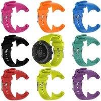MASiKEN силиконовая резинка часы ремешок для SUUNTO CORE ремешки Для мужчин уличные спортивные часы браслет Matel Новая мода