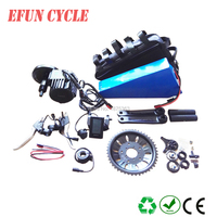 China electric bicycle kits fat bike kits BAFANG BBSHD 48V 1000W central motor kits with 48V 30Ah triangle battery+triangle bag