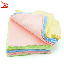 100Pcs/Lot Mixed Color Square Microfiber Jewelry Polishing Clothes for Glasses Camera Led Screen 13X13CM
