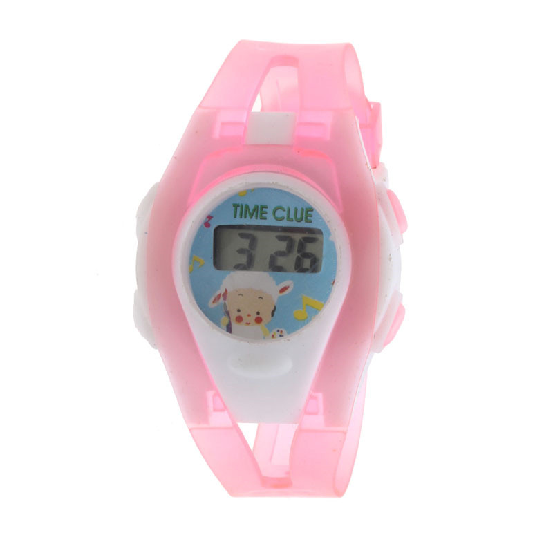 2018 New Fashion Boys Girls Silicone Electronic Digital Watches For Kids Student Colorful Watch For Children Christmas Gift  #D