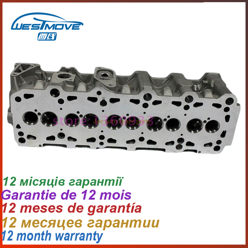cylinder head for Volvo S70 V70 S80 2460CC 2.5 TDI SOHC 10V 1995- ENGINE: D5252T 8111100 8601366 074103351C 908704 908 704