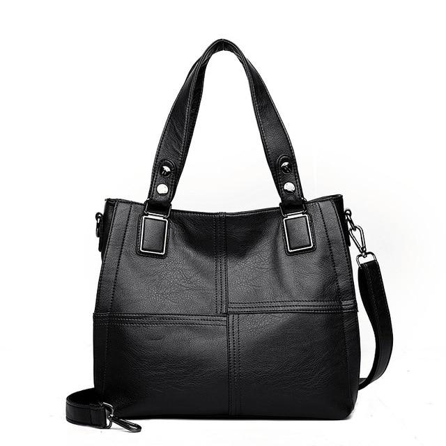 Women Leather Handbag...