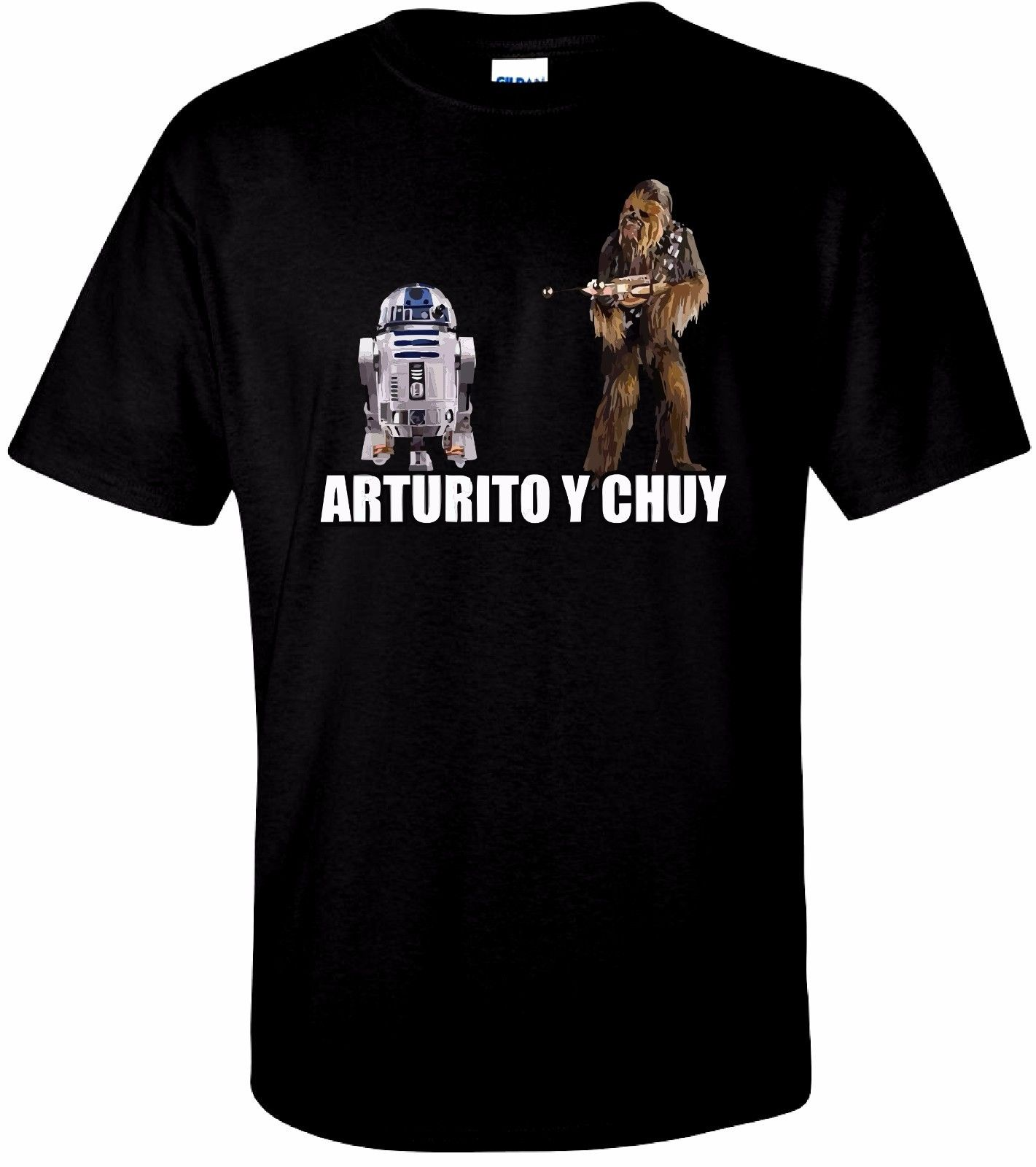 Arturito y Chuy T Shirt 100% Cotton Tee by BMF Apparel Male Best Selling T Shirt Summer Short Sleeves Cotton Fashion t Shirt