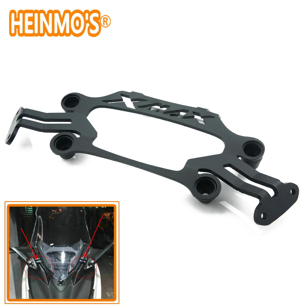 XMAX 300 For Yamaha Smartphone Mobile Phone bracket XMAX300 Motorcycle Front Stand Holder X MAX 300 250 GPS Plate Mirror Bracket motorcycle modified front stand holder smartphone mobile phone bracket gps plate mirror bracket for yamaha xmax x max 250 300
