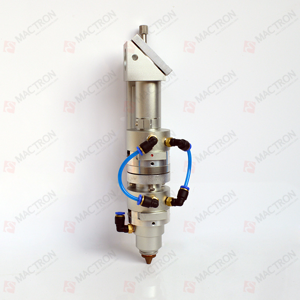High Power Two Bifocal Co2 Laser Cut Head With Cooling