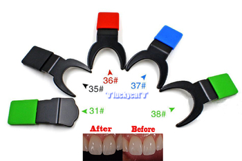 1piece Dental Silicone Contraster Oral Black Background Board Photography New