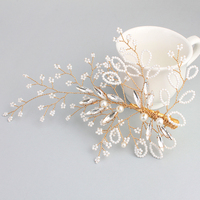 Miallo Little Pearl Bride Hair Pins The Ivory White Pearl Wedding Hair Accessories HS J4526