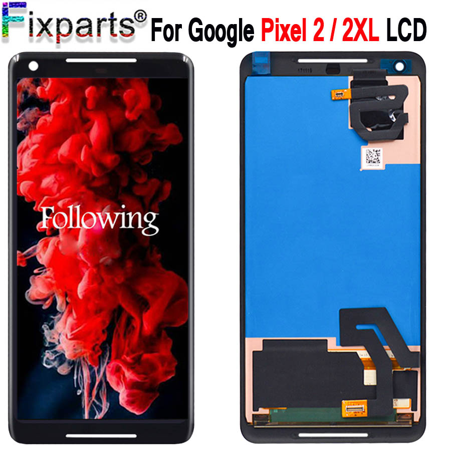 Cellphones & Telecommunications tools Mobile Phone Lcds Jrz For Google Pixel 2 Lcd Display And Touch Screen 5.0 Inch Screen Digitizer Assembly Replacement For Google Pixel 2