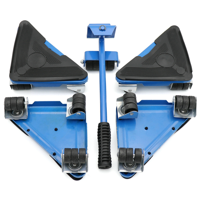 Furniture lifter moving sliders 5