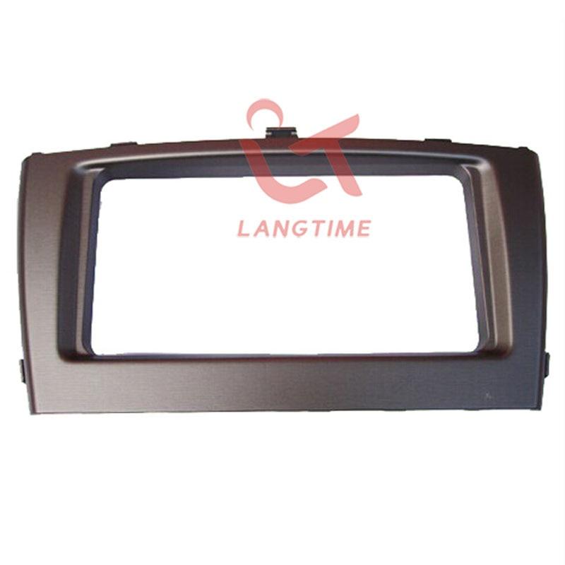 Car refitting DVD frame,DVD panel,Dash Kit,Fascia,Radio Frame,Audio frame for 2012 Toyota Avensis ,2din