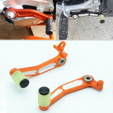 New Motorcycle CNC Aluminium Brake Clutch Gear Pedal Lever Brake Shift Lever Foot Rests Accessories For KTM DUKE 200 390 CF400