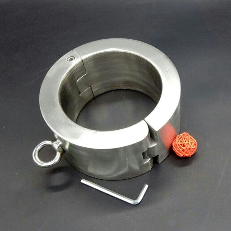 bondage collar metal