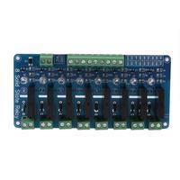 250 V 2A 8 Channel Relé de Estado Sólido SSR G3MB-202P Módulo Para Arduino