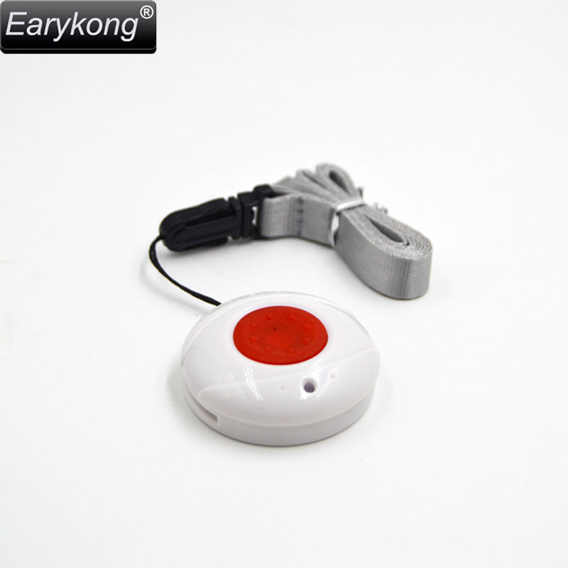 433MHZ Wireless Waterproof SOS button, Panic button, One key alarm, For G90B / Wifi wireless home security alarm system ...