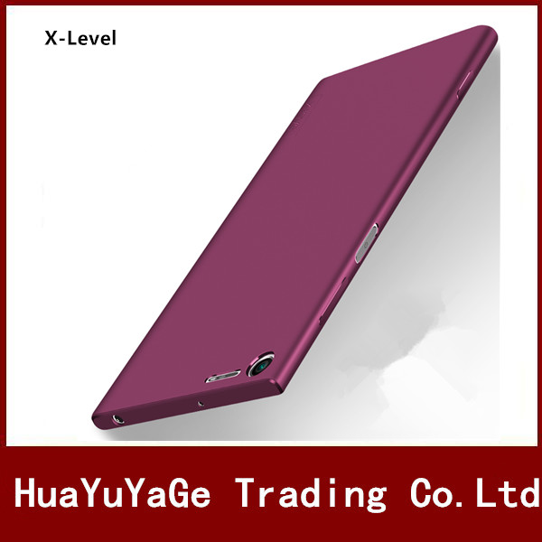 Téléphone Cas X-Niveau Soyeux TPU Mat Ultra mince retour cas Anti-chute antichoc couverture Souple pour Sony Xperia XZ1 Compact XZ1 Mini