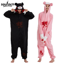 Gloomy Bear Kigurumi Cartoon Anime Animal Pajama Adult Unisex Polar Fleece Onesie Halloween Outfit Funny Cool Winter Overall