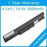 4 Cell 2600mah Laptop Battery For Hp Pavilion Ultrabook 14 14 B100 15 15 B000 15