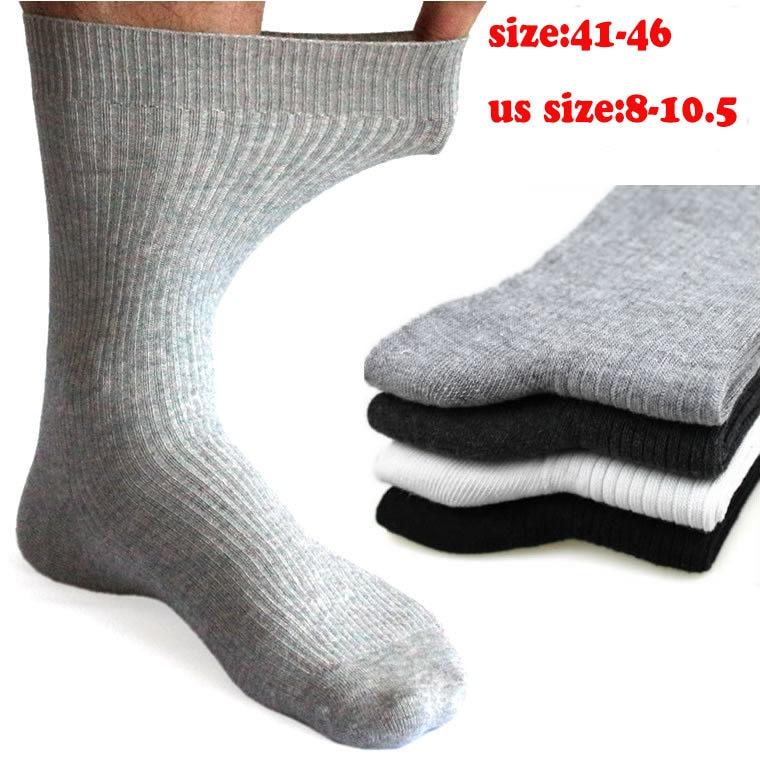 5pairs new arrived men bigger size socks, purple colors thick socks men,comfortable mens socks41-46size, good men socks