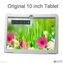 Original Llamada de Teléfono de 10 Pulgadas Tablet Android 5.1 3G Android Quad Core 2 GB RAM 16 GB ROM IPS Tabletas LCD Pc 7 8 9 Línea Recta tarjeta
