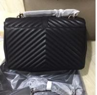bolsos mujer de marca famosa 2018 Leather Handbag Top Quality V pattern genuine leather bags for women school bag