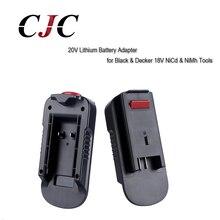 18V to 20V Battery Converter Adapter for Black Decker Battery HPA1820 20V Lithium Battery to 18V