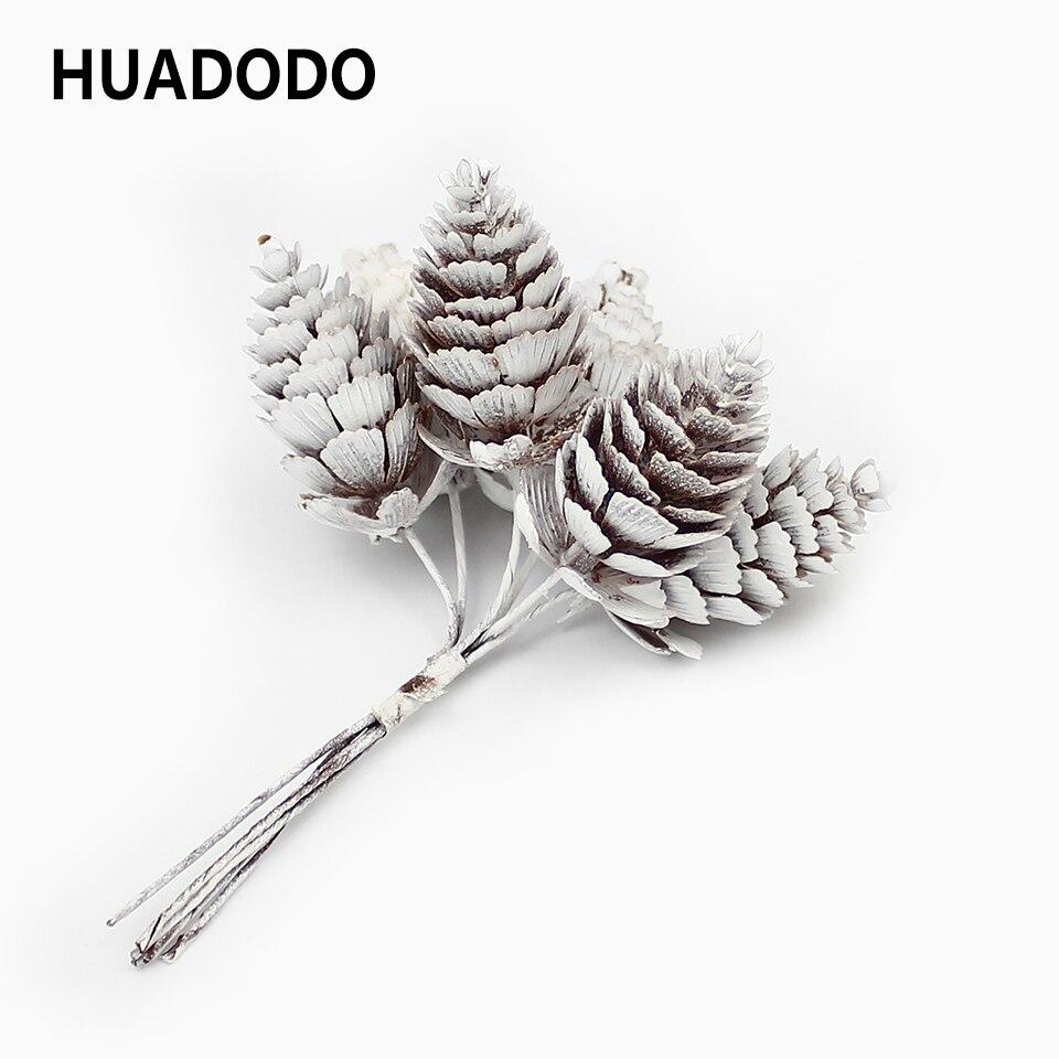 HUADODO искусственные сосновые орехи, искусственные травы, цветы на Рождество, украшения для дома, DIY Скрапбукинг свадебные декоративные|Искусственные и сухие цветы| | АлиЭкспресс