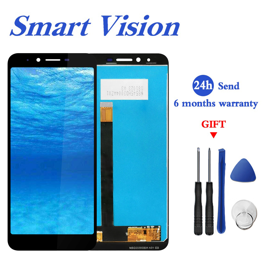 For Homtom S99 LCD Display and Touch Screen 5.5 inch Mobile Phone Accessories For Homtom S99 With Tools And Adhesive(China)