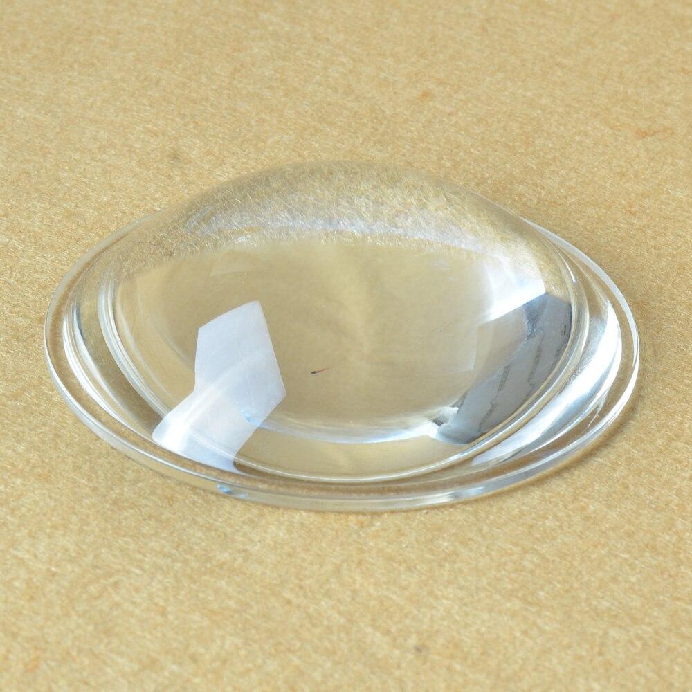 Asférica de Vidro Lente de Foco Refletor para Auto Lâmpada de Luz Diâmetro Óptico Lente Convexa Plano Comprimento 75mm Projetor 88mm Led