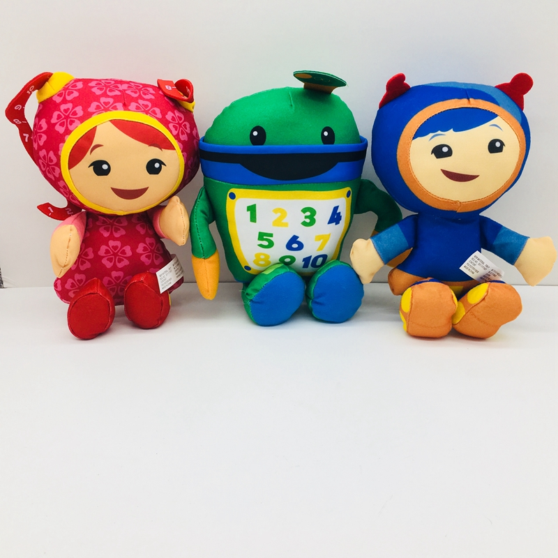 20cm Team Umizoomi Sister Girls Stuffed Animals Cartoon Plush Doll Kids Baby Christmas Gifts