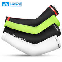 INBIKE Ice Silk Cycling Sleeves Running Bicycle UV Sun Protection Arm Protection Summer Outdoor Sports Sleeves with Watch Hole