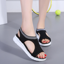 Women Sandals 2019 New Female Shoes Woman Summer Wedge Comfo