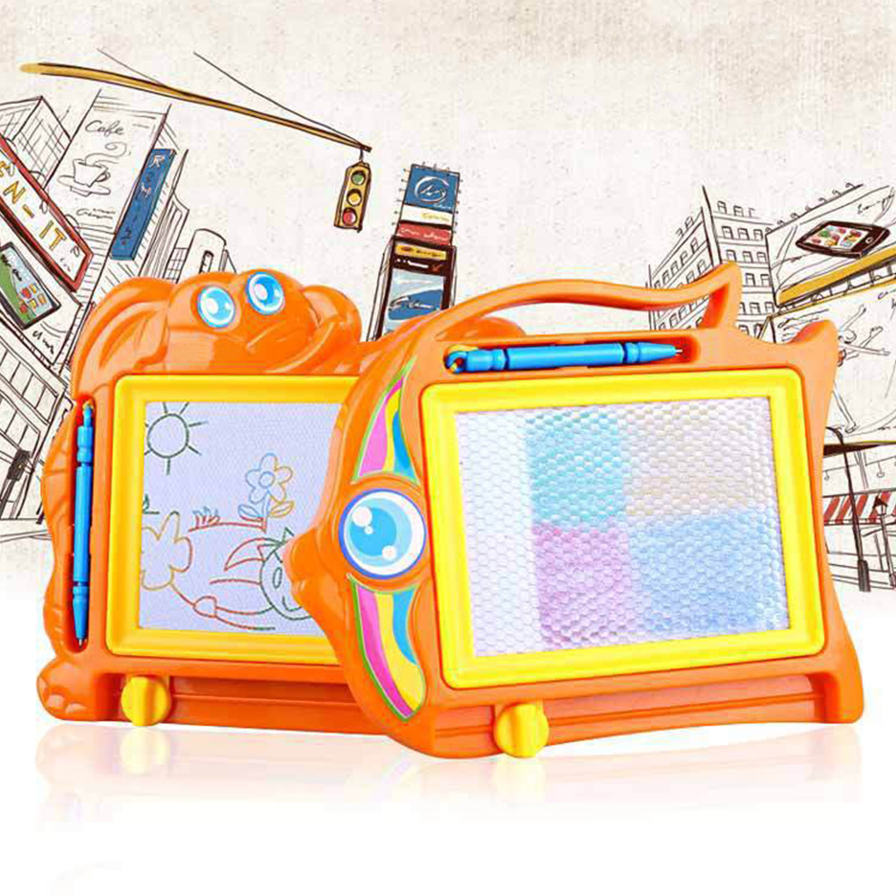 Children Cartoon Magic Writer Magnetic Drawing Scribbling Board Childrens Toy Erasable Drawing Graffiti Board Toy #21